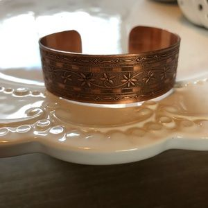Jewelry - 100% Copper Cuff Bracelet